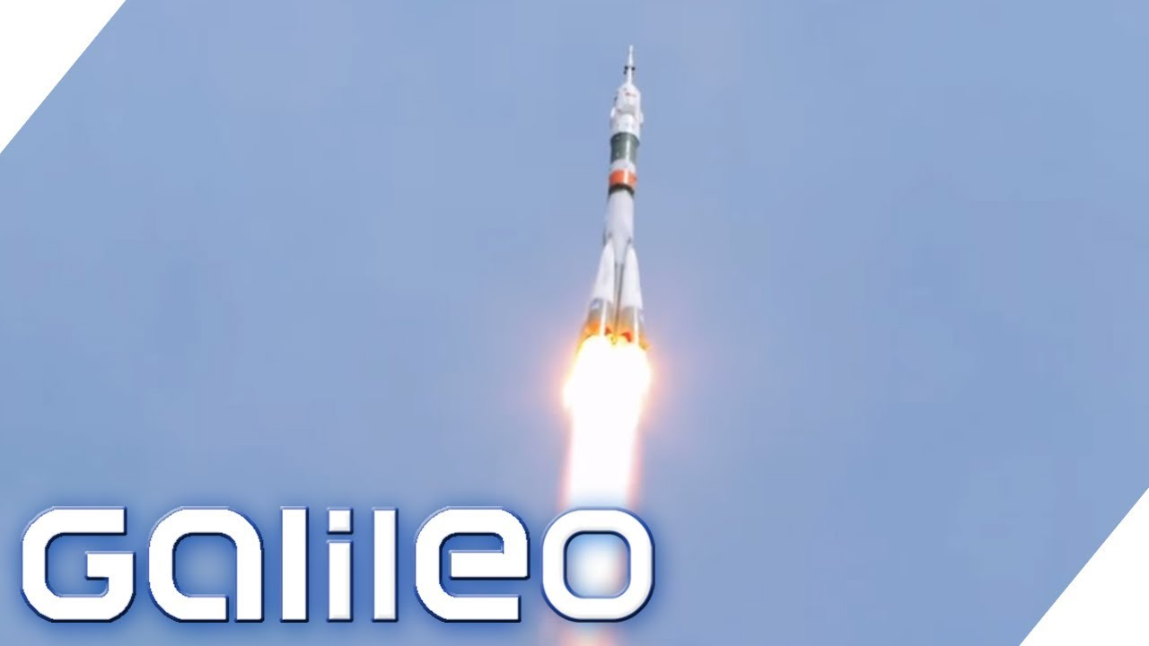 Raketenstart Countdown