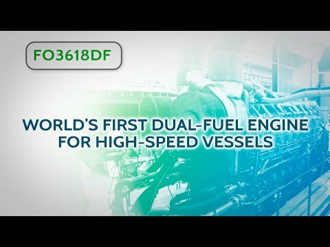 World's first LNG dual-fuel engine for high-speed vessels - Fred. Olsen - GAINN4SHIP INNOVATION