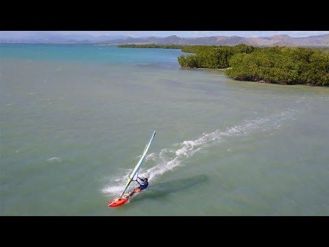 Salinas Windsurfing, Puerto Rico 4K