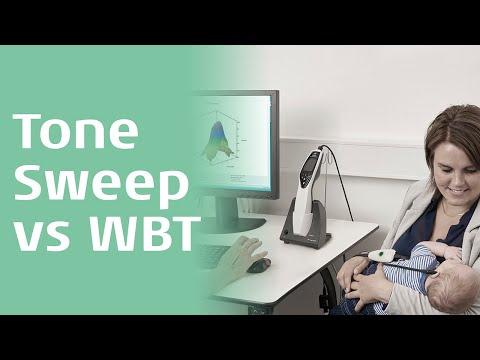 Tone Sweep versus Wideband Tympanometry