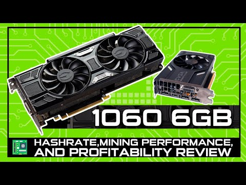 What Cryptocurrencies To Mine With A 1060 6GB GPU [Hashrate Review]