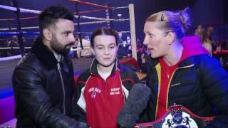 BBTV speak to female champs Courtney McCarthy & Stacey Copeland