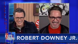 Robert Downey Jr. Outlines Plans For A New Show With Stephen Colbert