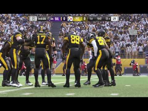 Madden NFL Football Week 16 Ravens @ Steelers TNF (Christmas)