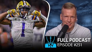 Chris Simms' 2021 NFL Draft Wide Receiver Rankings | Chris Simms Unbuttoned Ep. 251 (FULL)