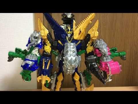 竜想像合体シリーズ第63弾の今回は、キシリュウネプチューンをベースに、ほかの騎士竜と仲良く順番に合体。ネプチューン〇〇に竜想像合体です...