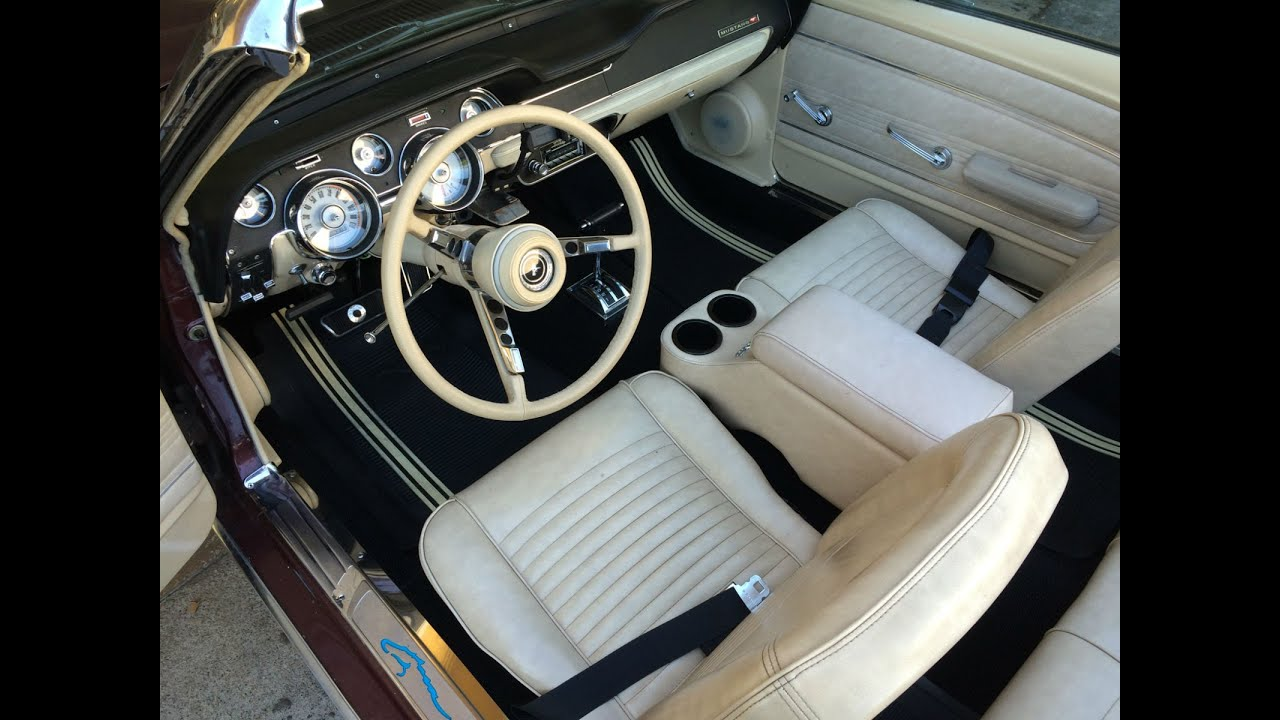 Ford Mustang Classic carpet replacement and Dynamat installation