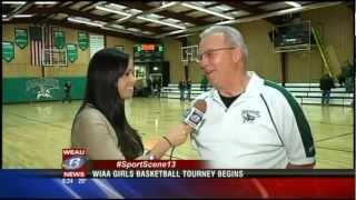 Abbie Hein Basketball - WEAU Interview Before Playoffs
