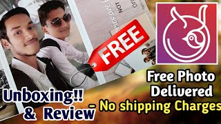 Homingos Photos Unboxing & Review  Free Order 2 Photos in Every week   By PG TecH EasY