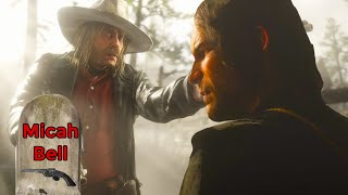 Red Dead Redemption 2 killing micah