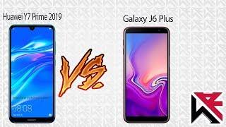 مقارنة هواوي Y7 Prime 2019   مع هاتف سامسونج جالكسي J6 Plus