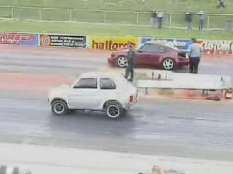 FIAT147 vs PORSCHE