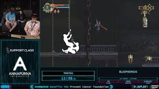 Blasphemous by teddyras in 51:38 - AGDQ 2020