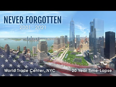 Official 20 Year Time-Lapse - Rebuilding the World Trade Center