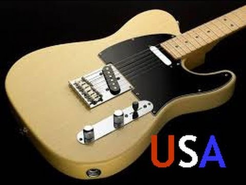 fender telecaster made in the usa best guitar for the money youtube. Black Bedroom Furniture Sets. Home Design Ideas