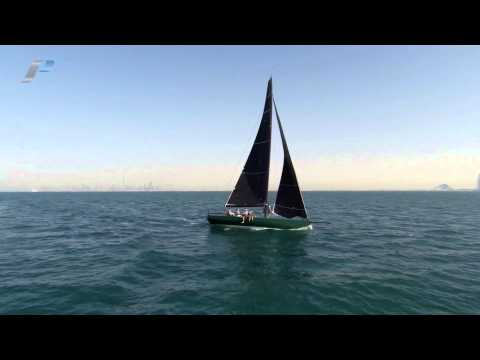 C40 MKII Yacht Rebellion - Inaugural Sail at Dubai Offshore