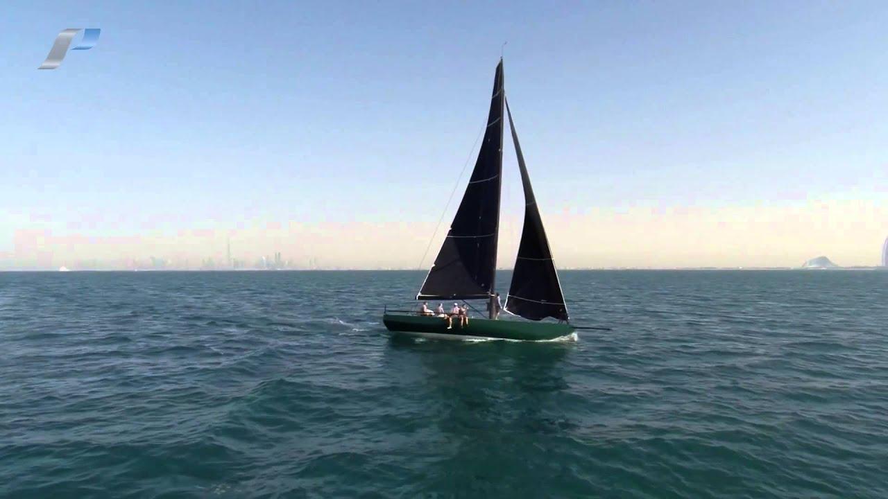 C40 mkii yacht rebellion inaugural sail at dubai for The sail dubai