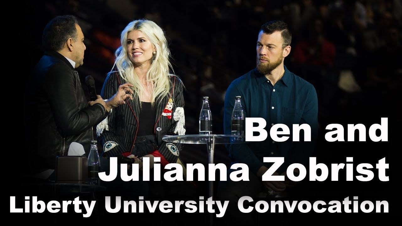 Ben and Julianna Zobrist - Liberty University Convocation