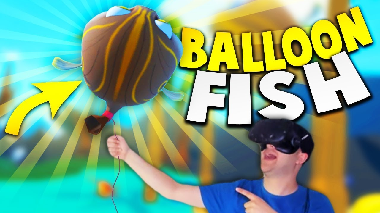 Catching the epic balloon fish in crazy fishing vr for Crazy fishing videos
