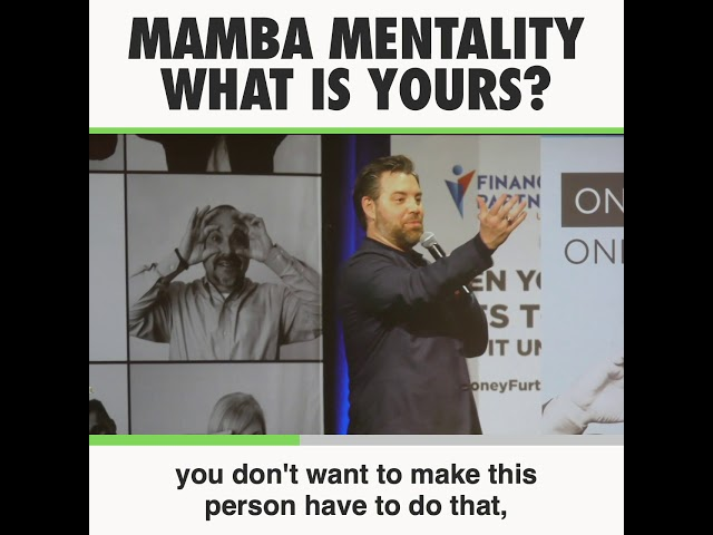 What is Your Mamba Mentality?  Leadership Promise with Jason Hewlett