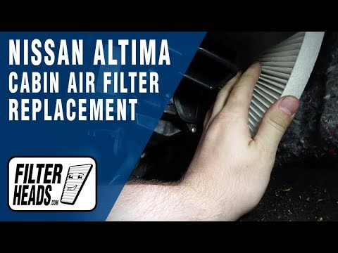 How to Replace Cabin Air Filter 2013 Nissan Altima