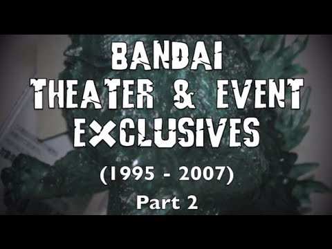 Bandai Theater Exclusives and Event Exclusives Pt 2