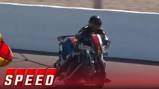 Four-Wide NHRA Nationals from Las Vegas Highlights   2018 NHRA DRAG RACING
