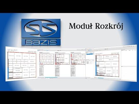 Tworzenie zaawansowanego rozkroju w programie Bazis - Moduł Rozkroju