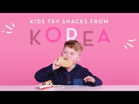 Korean Snacks | Kids Try | HiHo Kids