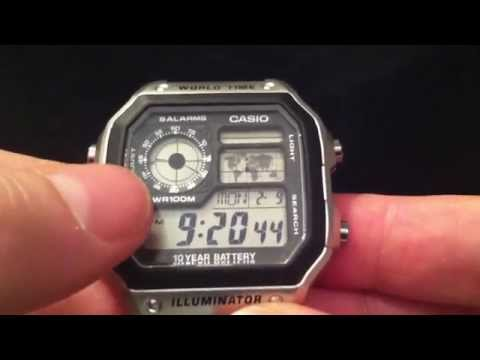Casio AE-1200 WHD-1AVEF World Time Watch