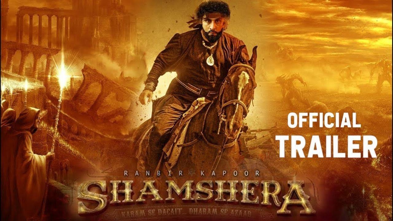 Shamshera : Official Trailer| Ranbir Kapoor | Sanjay Dutt | Vaani Kapoor | Karan M | Concept Trailer - YouTube