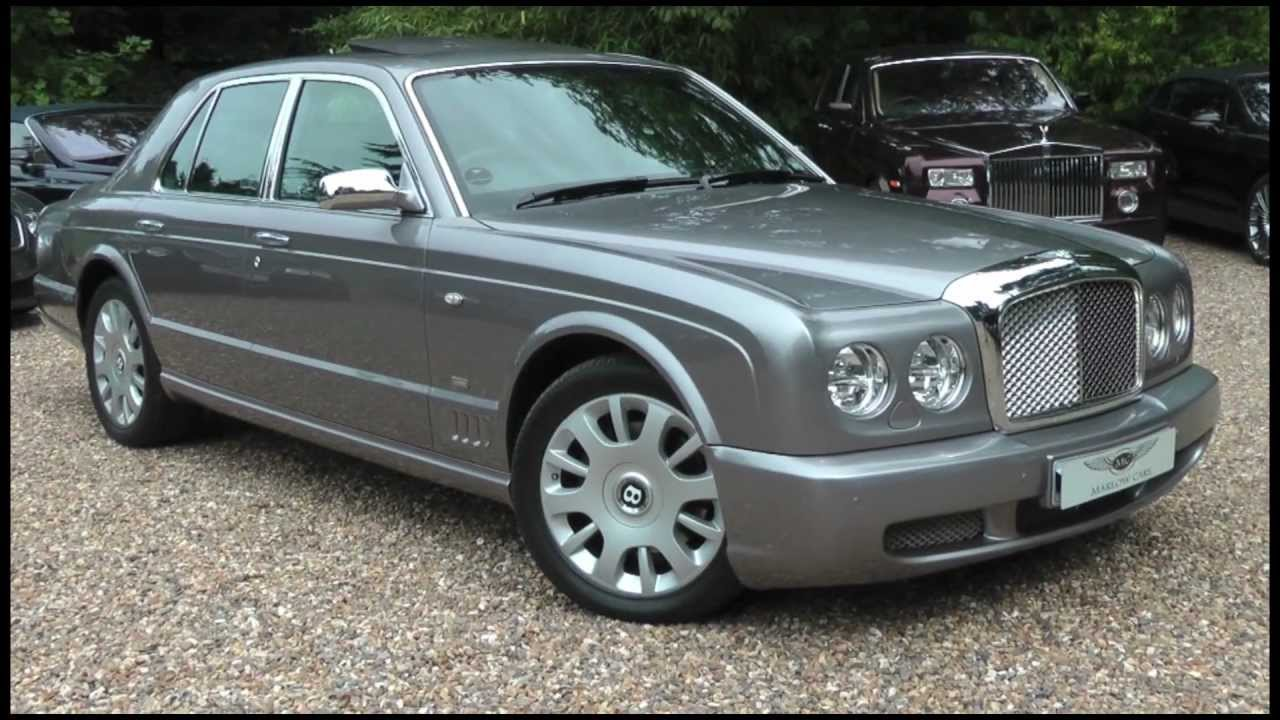 Bentley arnage blue train special edition marlow cars youtube vanachro Images