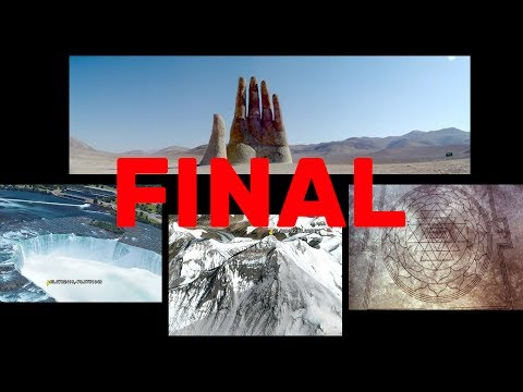 Google Earth Online 2017- GIANT HAND Sculpture, INSANE Crop Circle, Niagara Falls & MT. Everest!!