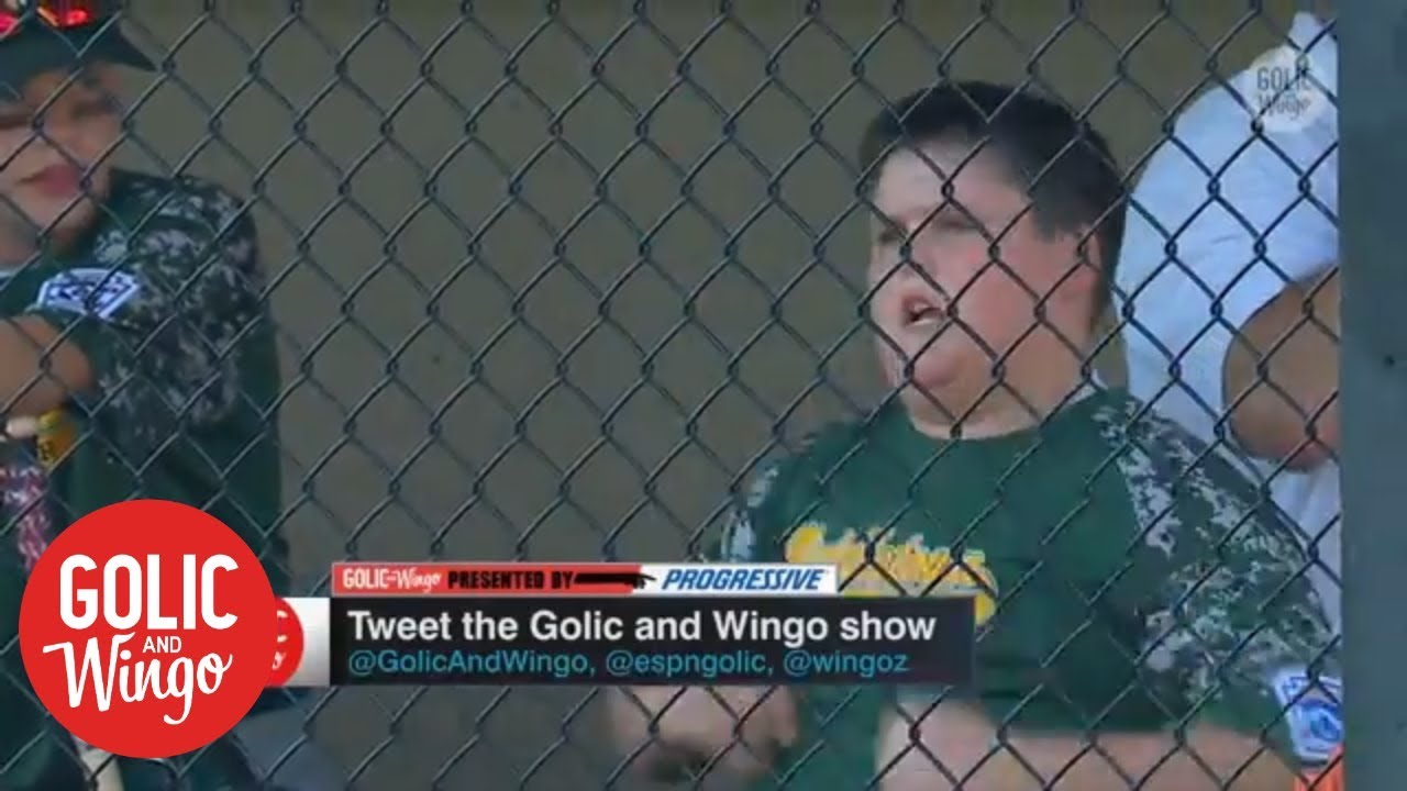 Big Al reveals favorite part about hitting dingers   Golic & Wingo   ESPN