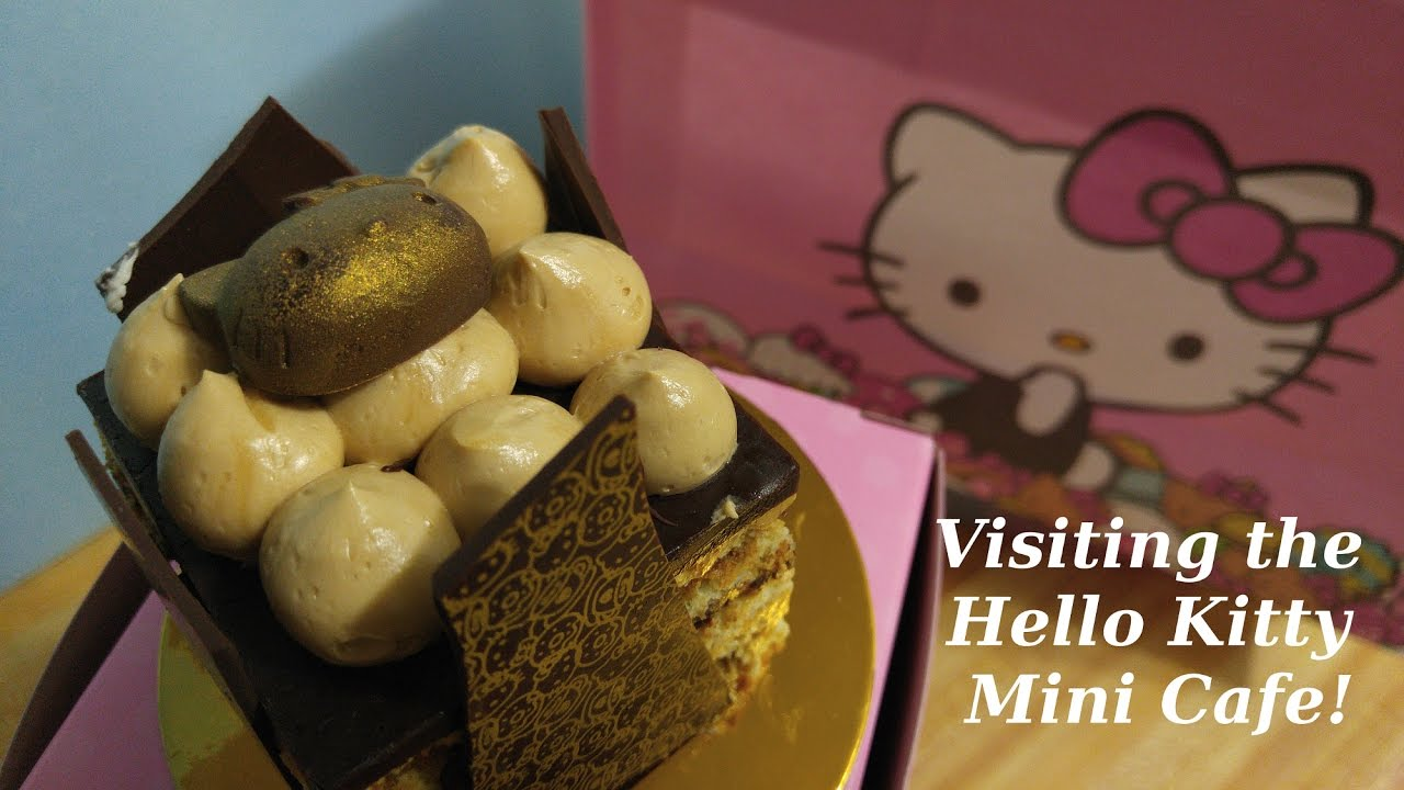 hello kitty mini cafe grand opening arcadia ca 2017 - youtube