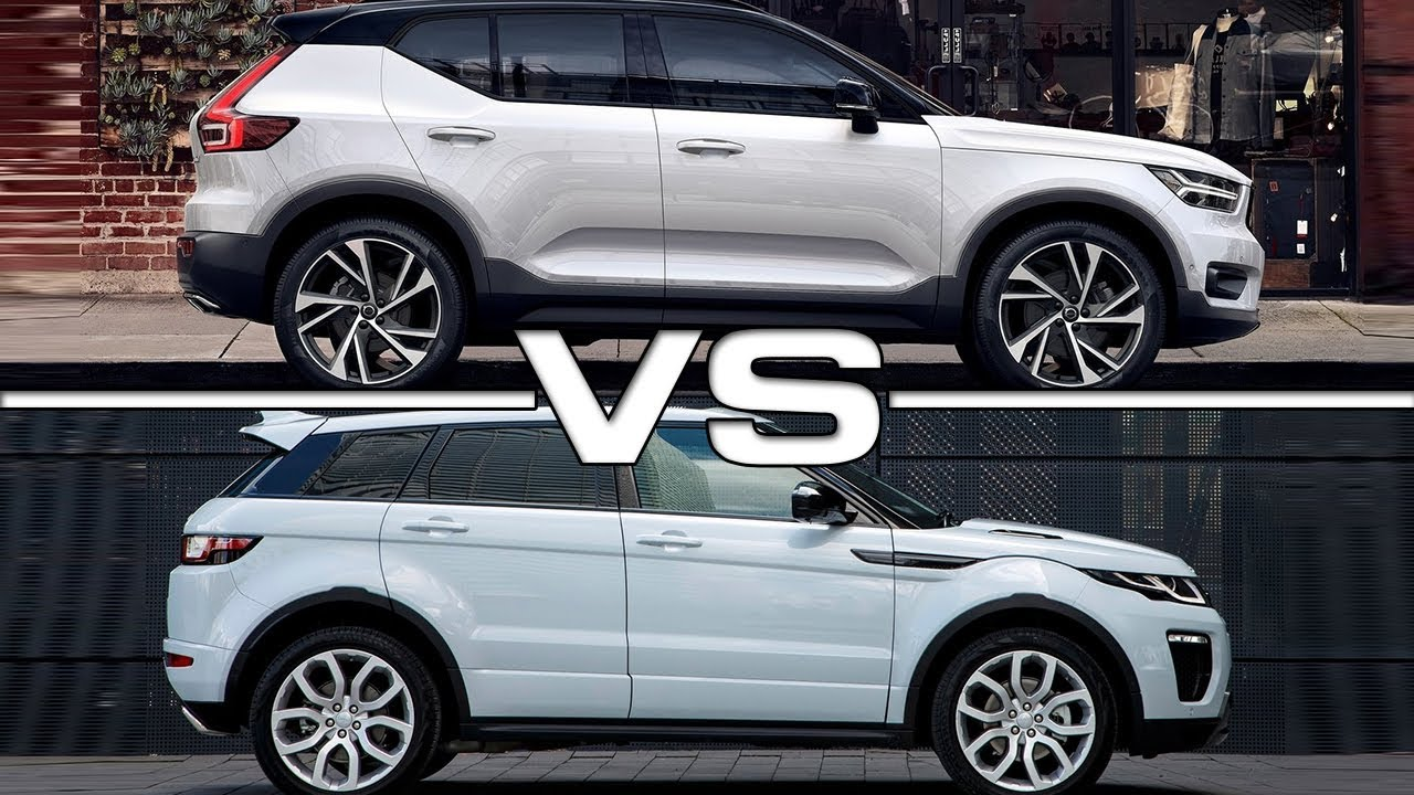 2018 volvo xc40 vs 2017 land rover evoque youtube. Black Bedroom Furniture Sets. Home Design Ideas