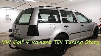 Tuning meines Alltags/Wintergolfs (VW Golf 4 Variant 1.9 TDI Tuning Story)