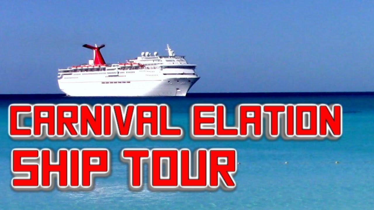 Carnival Elation Ship Tour 2016 Youtube