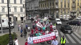 protest matek dzieci niepełnosprawnych warszawa 5 maja 2015r cz 1