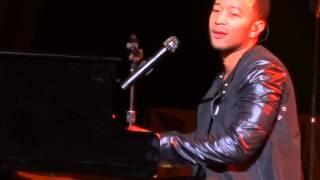 John Legend Save The Night Live At Allphones Arena Sydney 2013