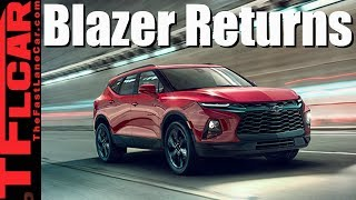 Live Reveal: The All-New 2019 Chevy Blazer, and It's A Crossover!