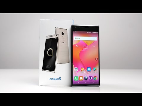 Unboxing: Alcatel 5 - (fast) Randloses Display für 229€ (Deutsch) | SwagTab