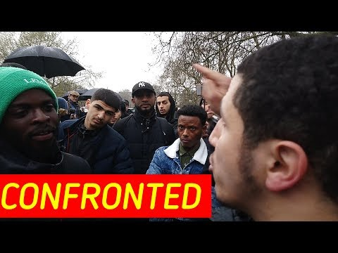 SHAMSI CONFRONTS ANJEM CHOUDARY SUPPORTER FULL VIDEO!