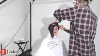 Repeat youtube video Live Hair Cutting Show Weapon of Choice S2 Ep4 with JoshXO and Katie!