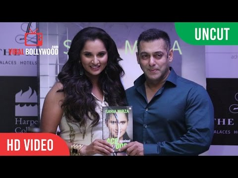UNCUT - Salman Khan Releases Sania Mirza's Autobiography 'Ace Against Odds'