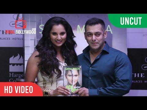 UNCUT - Salman Khan Releases Sania Mirzas Autobiography Ace Against Odds