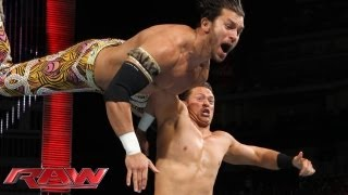 The Miz vs. Fandango: Raw, Sept. 2, 2013