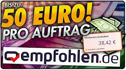 Bis zu 50€ pro Auftrag! EMPFOHLEN.DE Vorstellung   Geld verdienen im Internet 2020