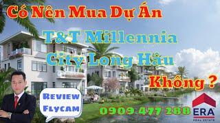 Chuyển nhượng T&T Long Hậu, ĐẤT NỀN SHOPHOUSE MILLENNIUM CITY, Khu dân cư Thái Sơn Long An