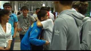 Проводы казахстанской олимпийской сборной по боксу